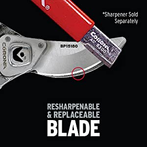 Resharpenable and Replaceable Blades and Parts