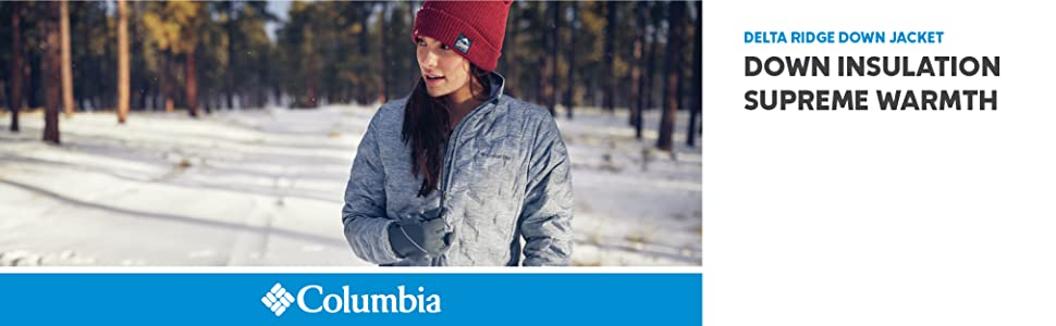 Columbia Women's Delta Ridge Down Winter Jacket