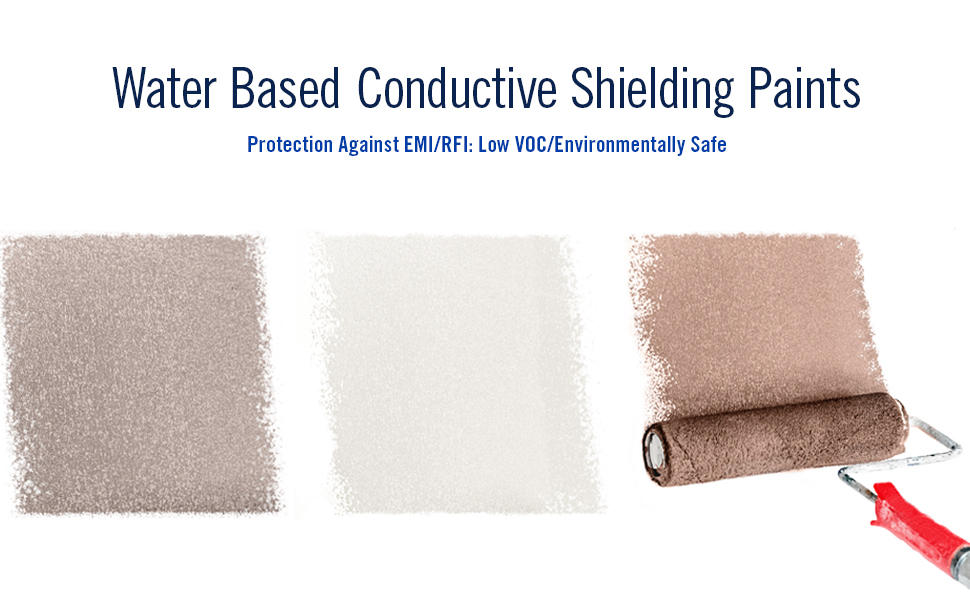 water based conductive shielding paints