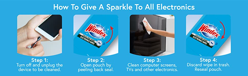How to give a sparkle to all electronics.