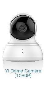 Dome camera 1080P white