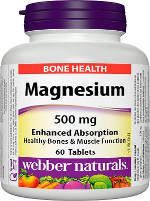Webber Naturals Magnesium 500mg