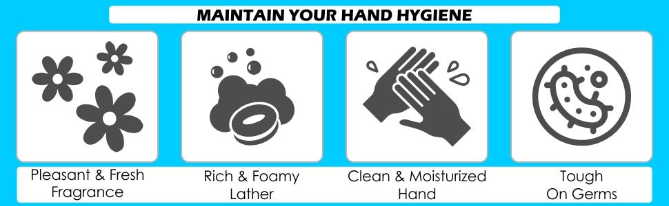 Cleenz Hand Wash Refill Bottle, 250 ml