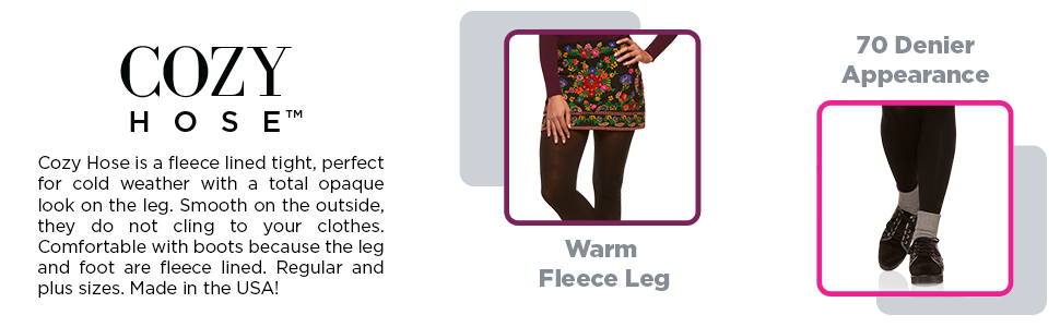 859db57327697 Berkshire Women's Cozy Tight with Fleece-Lined Leg at Amazon Women's ...
