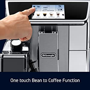 one touch bean to coffee