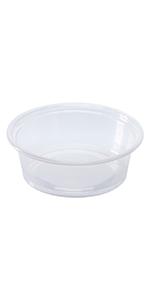 Karat 1.5 oz Clear PP Portion Cup