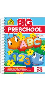 Big Preschool, Preschool Workbook, Early Reading, Early Math, Shapes, Patterns, Preschool Learning