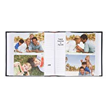 photo album picture frame case book family scrapbook genuine leather binding bound