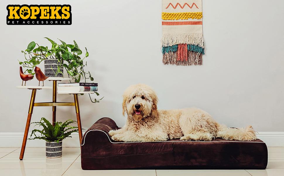 KOPEKS MEMORY FOAM DOG BED EXTRA LARGE