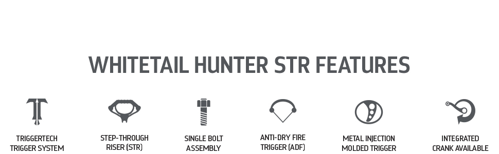 Whitetail Hunter STR Features