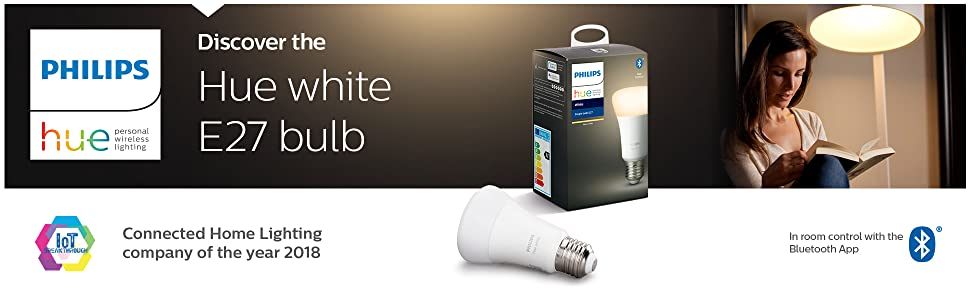 Hue white E27 bulb