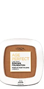 powder foundation anti aging face makeup