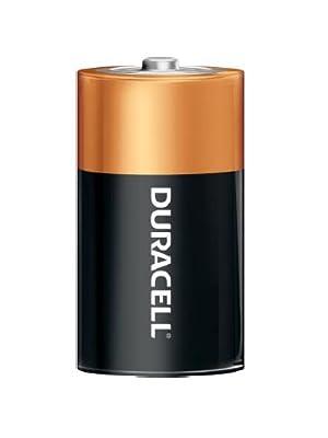 Duracell CopperTop D Alkaline Battery