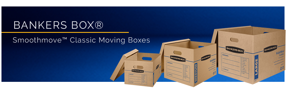 smoothmove, bankers box, box, moving box, moving boxes, storage box, moving, boxes