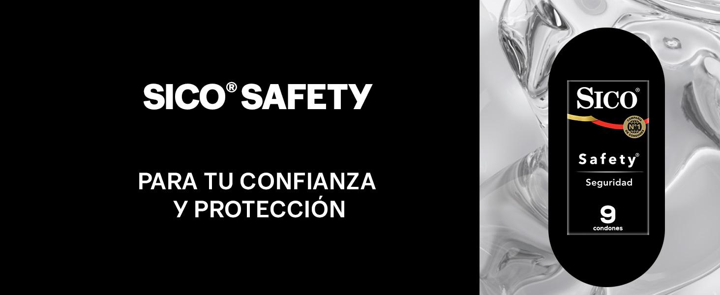 sico, condon, preservativo, condones, preservativos, sico safety, seguridad, safety