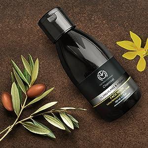 charcoal face wash argan ylang