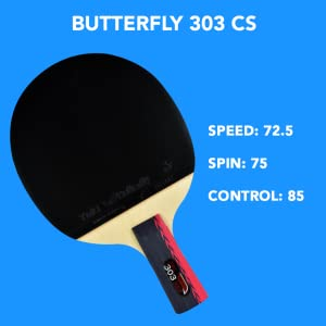 Butterfly 303 CS Chinese Penhold Racket