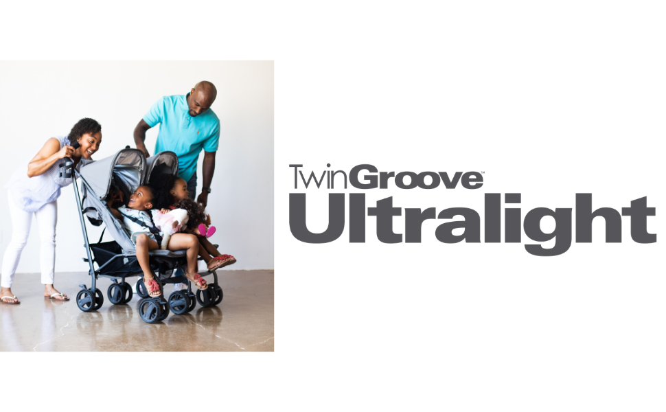 twin groove lightweight twin two babies toddler stroller compact travel adjustable