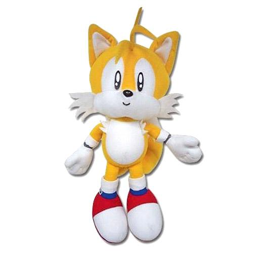 Amazon.com: GE Animation Sonic Classic Tails Plush: Toys ...