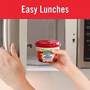 Easy school lunches from Chef Boyardee