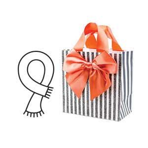 Hallmark, gift bag, gift bags, birthday, gift bag with tissue paper, birthday, Hallmark Signature