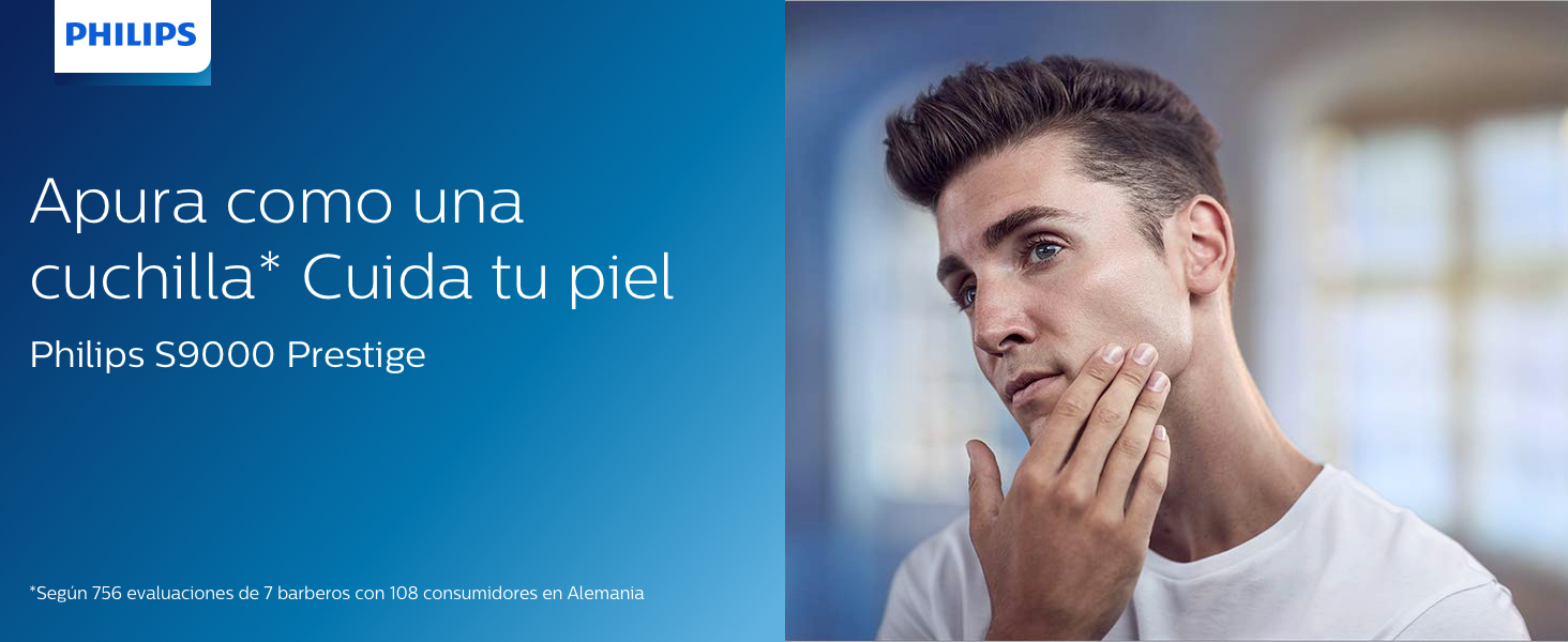 Philips Serie 9000 Prestige SP9820/18 - Afeitadora Eléctrica para Hombre Con Sensor de Densidad de Barba, 3 Modos, Seco o Húmedo con Perfilador de Barba y Funda,Negro: Amazon.es: Salud y cuidado personal