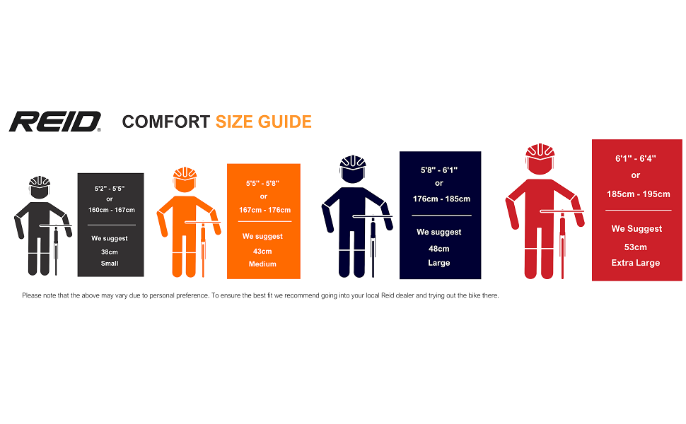 Comfort Size Guide