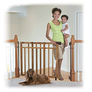 Amazon.com : Summer Infant Banister and Stair Gate With ...