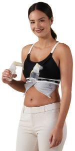 Pumping bra pump nursing accessory breast pump
