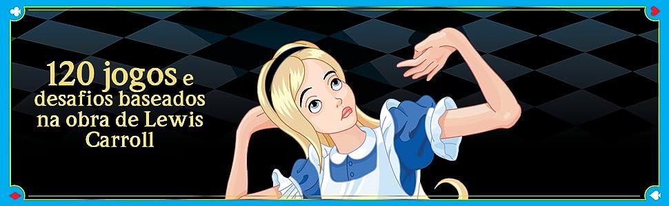 jogos, desafios, Lewis Carroll