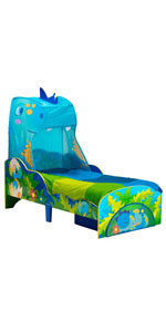 Dinosaur Bed with canopy