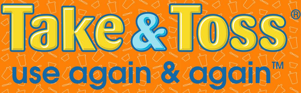 Take & Toss Toddler Bowls