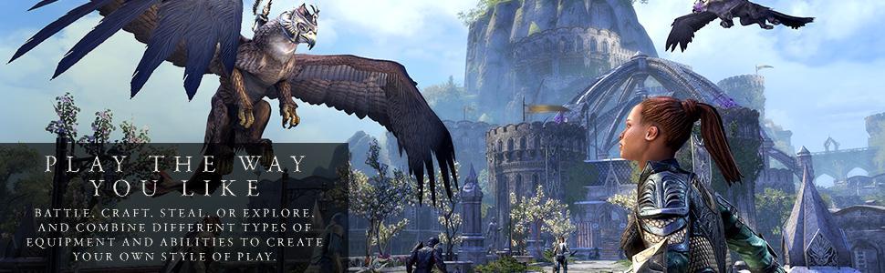 Amazon com: The Elder Scrolls Online: Summerset Collector's Edition