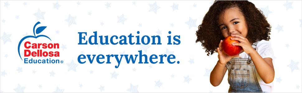 Carson Dellosa Tagline: Education is everywhere