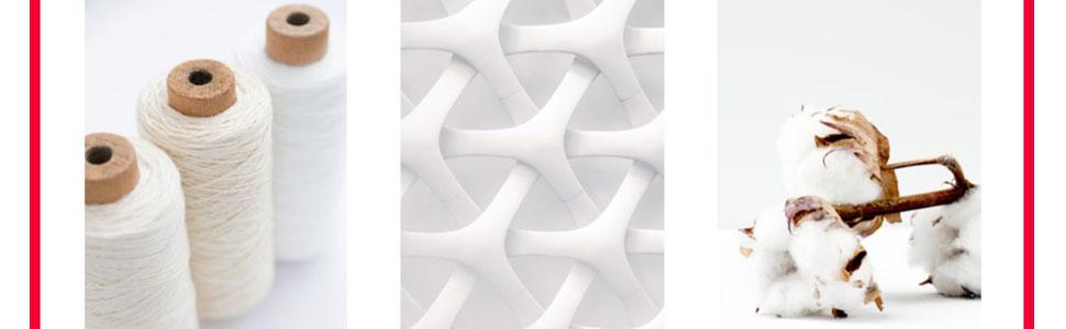 features cotton woven soft