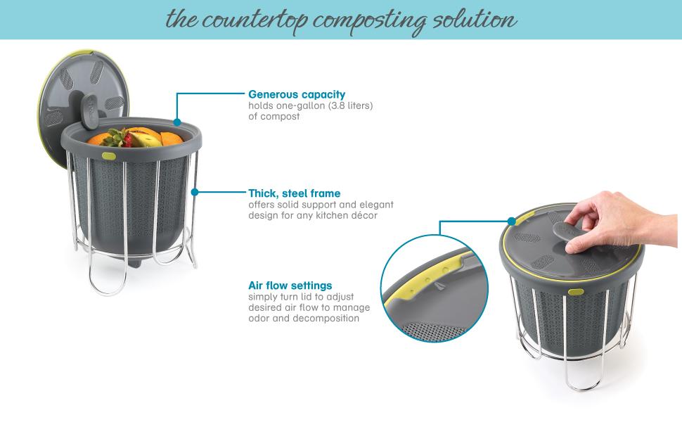 Kitchen Composter detail