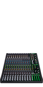 Mackie, ProFX16v3, Effects, Mixer, USB, Recording