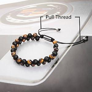 adjustable men's bracelet