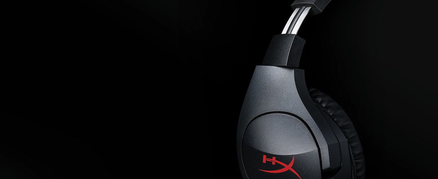 HyperX Cloud Stinger - Gaming Headset – Comfortable HyperX Signature Memory Foam, Swivel to Mute Noise-Cancellation Microphone, Compatible with PC, ...