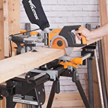 optional miter saw stand