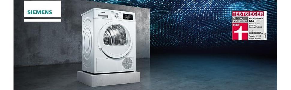 Siemens WT46G400 iQ500 Kondensationstrockner / B / 8 kg