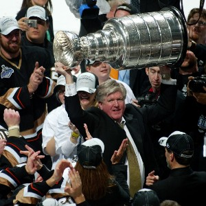 Brian Burke wins the Stanley Cup