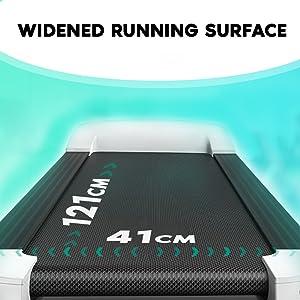 UrbanTrek TD-M1 - Motorized, 100% Pre-Installed, Modern Style Treadmill for Modern Family and Home
