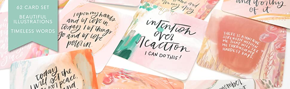 positive affirmations cards thinking of you gratitude motivational