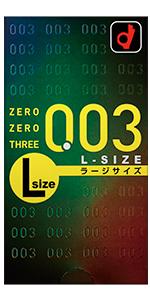 ゼロゼロスリー 0.03 Lサイズ