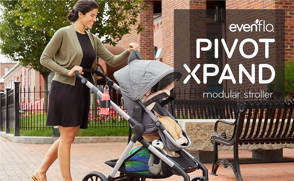 toddler, stroller, baby, pivot