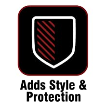 Allstar ALL76401 4 Diameter Stainless Steel Head Slip-Over Door Design Peep Style Side View Mirror Pair