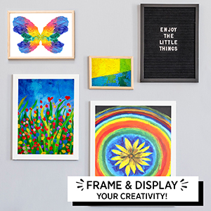 Multicolor Horizon Group USA 8x10 Painting Panel Canvas Boards Pack of 12