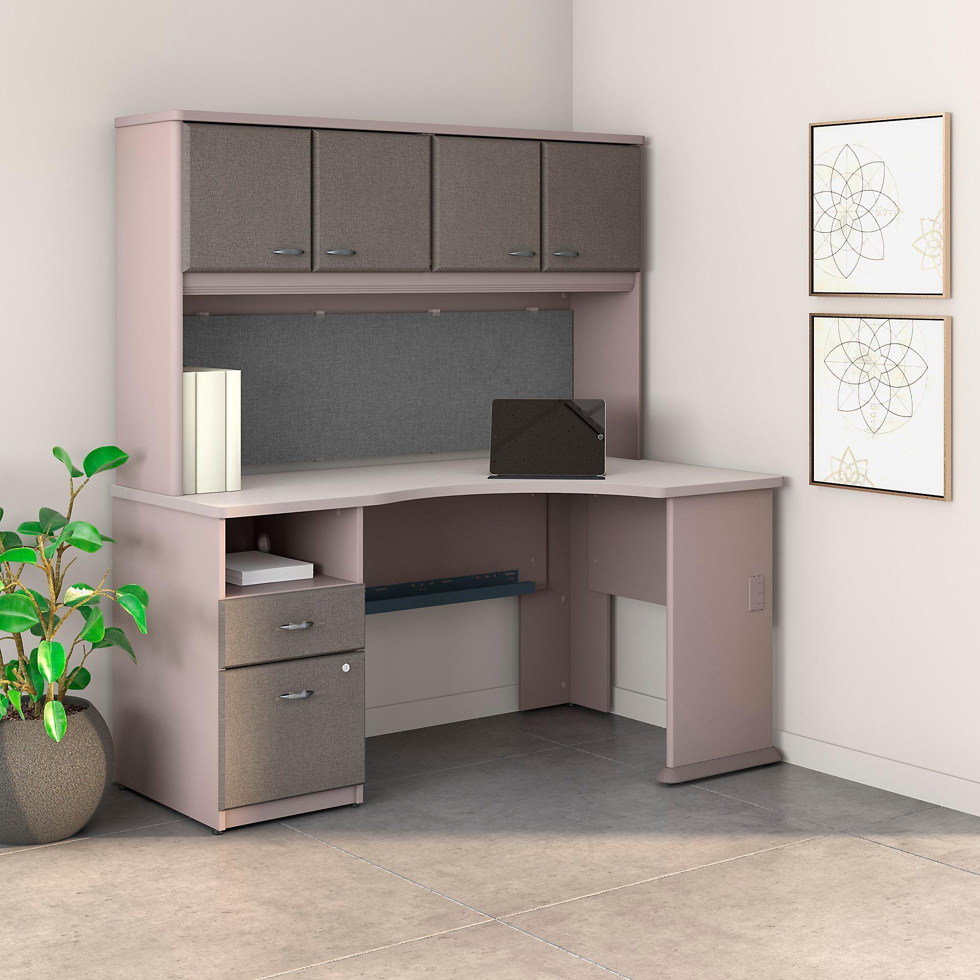 Kitchen Office Furniture: Amazon.com: Bush Business Furniture Series A 60W Corner