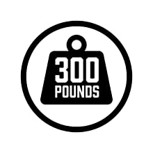 300 Pounds Icon to Show Weight Capacity